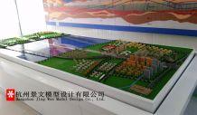 杭州地铁6号线过江隧道沙盘