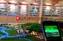 核工业二六二大队沙盘模型