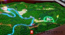 呼日村总体规划模型