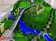 郑州市轨道交通6号线一标沙盘模型