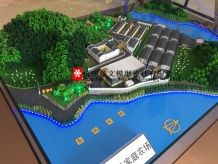生态农场沙盘模型