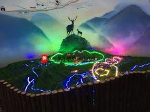 清凉峰镇规划沙盘模型