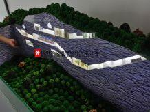 人防工程场景模拟沙盘模型