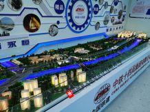 郑州轨道交通12号线一期6工区沙盘模型