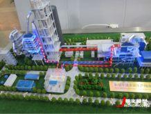 水泥生产线模型